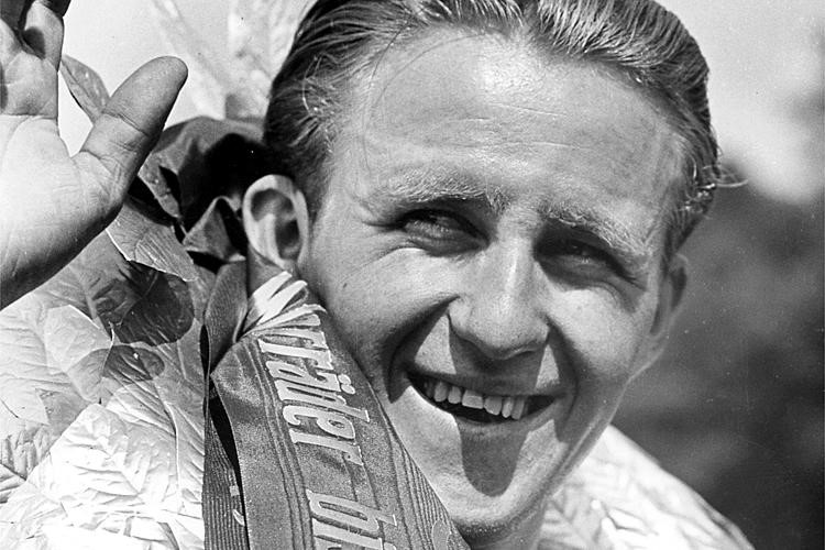 Rupert Hollaus - Weltmeister 125-cm3 Klasse anno 1953