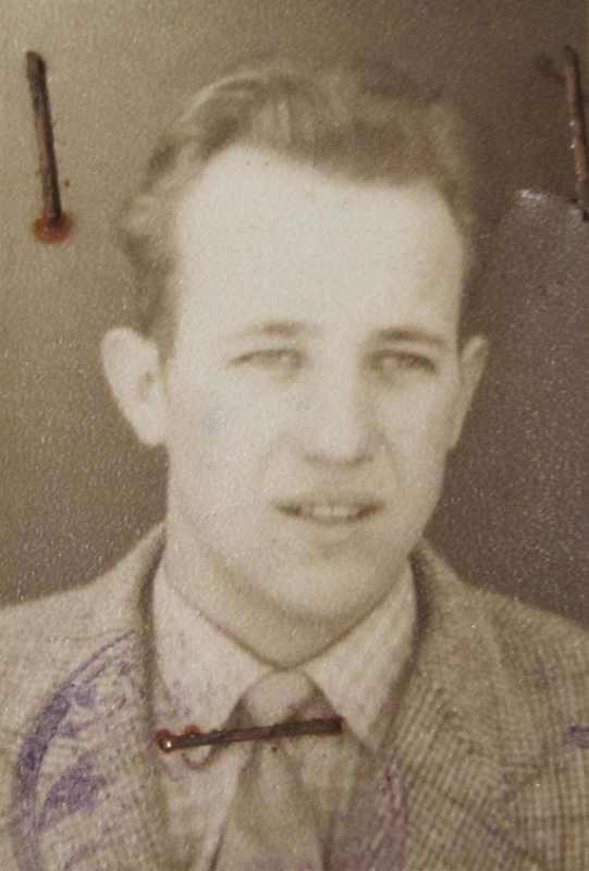 Othmar Daxbeck - Bild von 1960 (Fahrerlizenz)