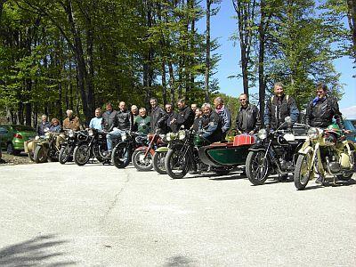 Frühjahrsausfahrt Hochegg - 2007