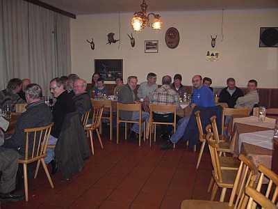 Stammtisch GH Lindtner / 50. Mitglied - 2009
